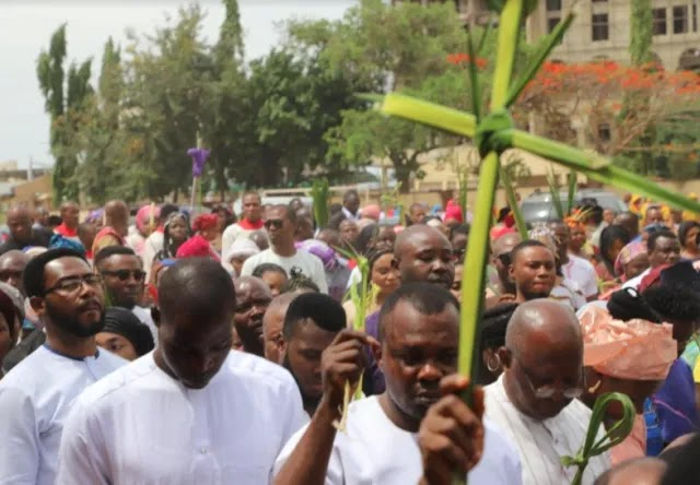 Churches witness low turnout on Palm Sunday service in Anambra