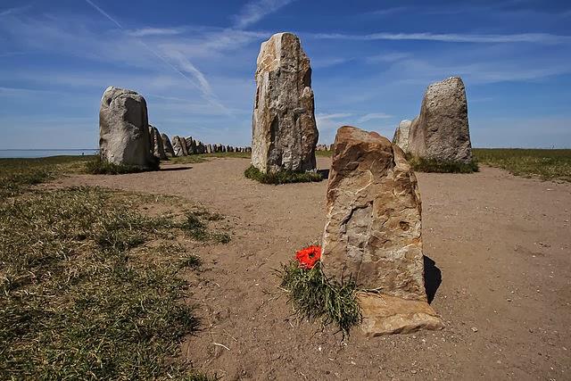 Ale's Stones, Kaseberga, Sweden