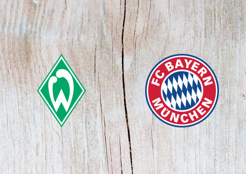 Werder Bremen vs Bayern Munich Full Match & Highlights 24 April 2019