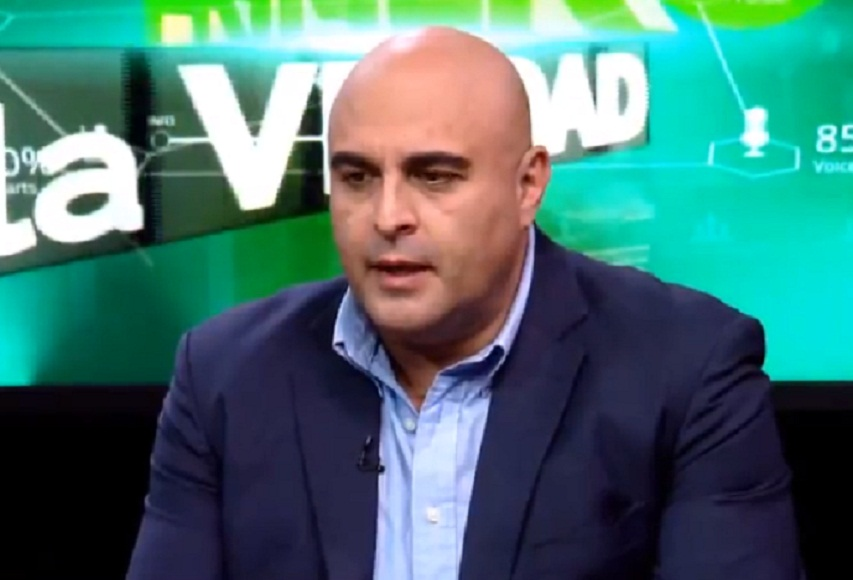 El viceministro de Régimen Interior y Policía, Javier Issa / ABI / BTV
