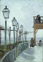 Vincent van Gogh: Montmartre, 1886
