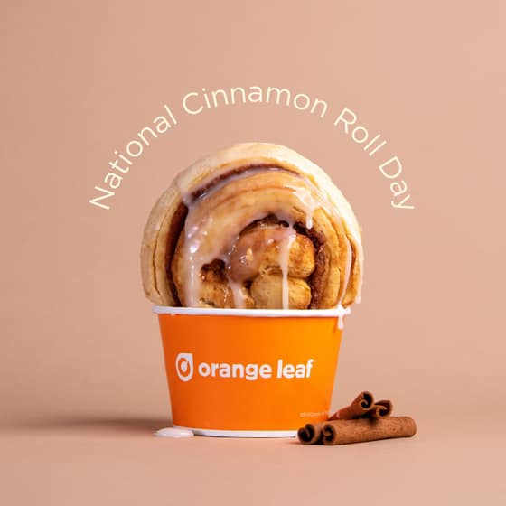 National Cinnamon Roll Day Wishes Unique Image