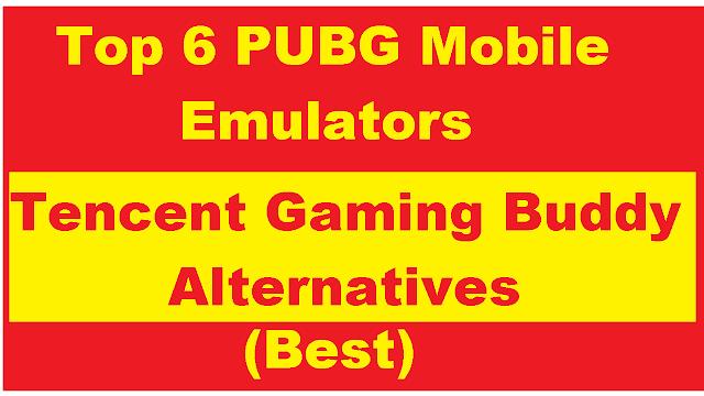 Tencent Gaming Buddy(GameLoop) Alternatives
