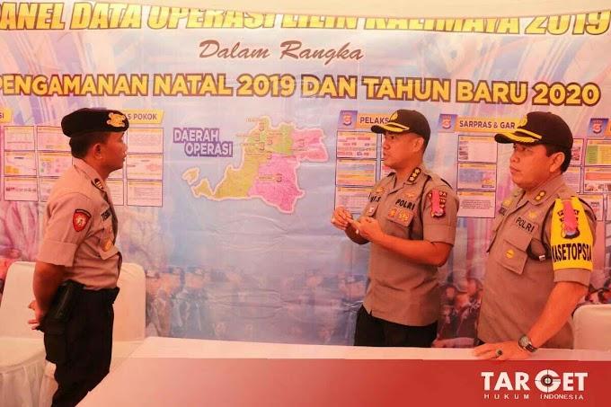 Kabid Humas Polda Banten Laksanakan Pengecekan Pos Pengamanan Mercusuar Anyer