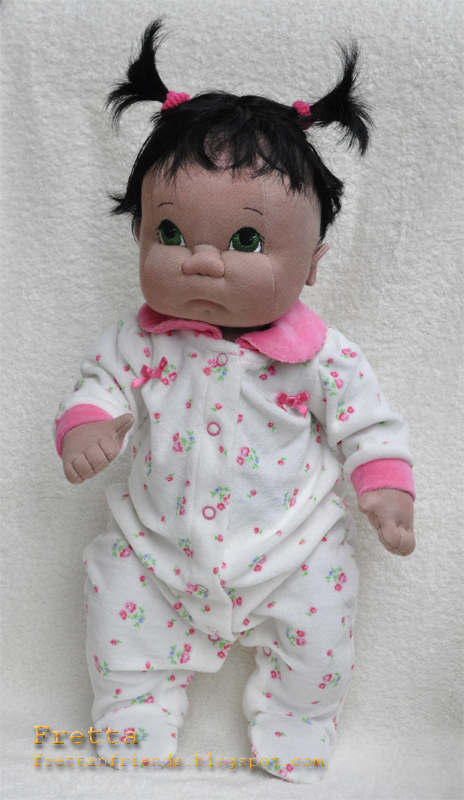 Fretta Life Size Soft Sculptured Soft Jointed Baby Doll