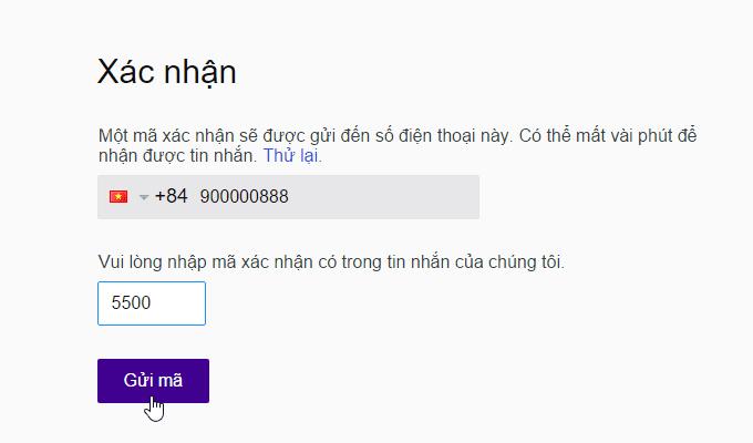 cách lập nick yahoo mail