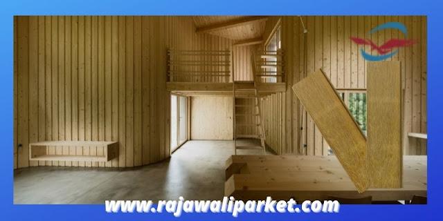 6 Material Panel Dinding Kayu Terbaik  - lumberceiling