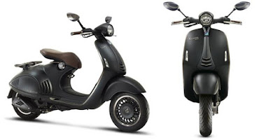 New Vespa 946 Emporio Armani side & front view
