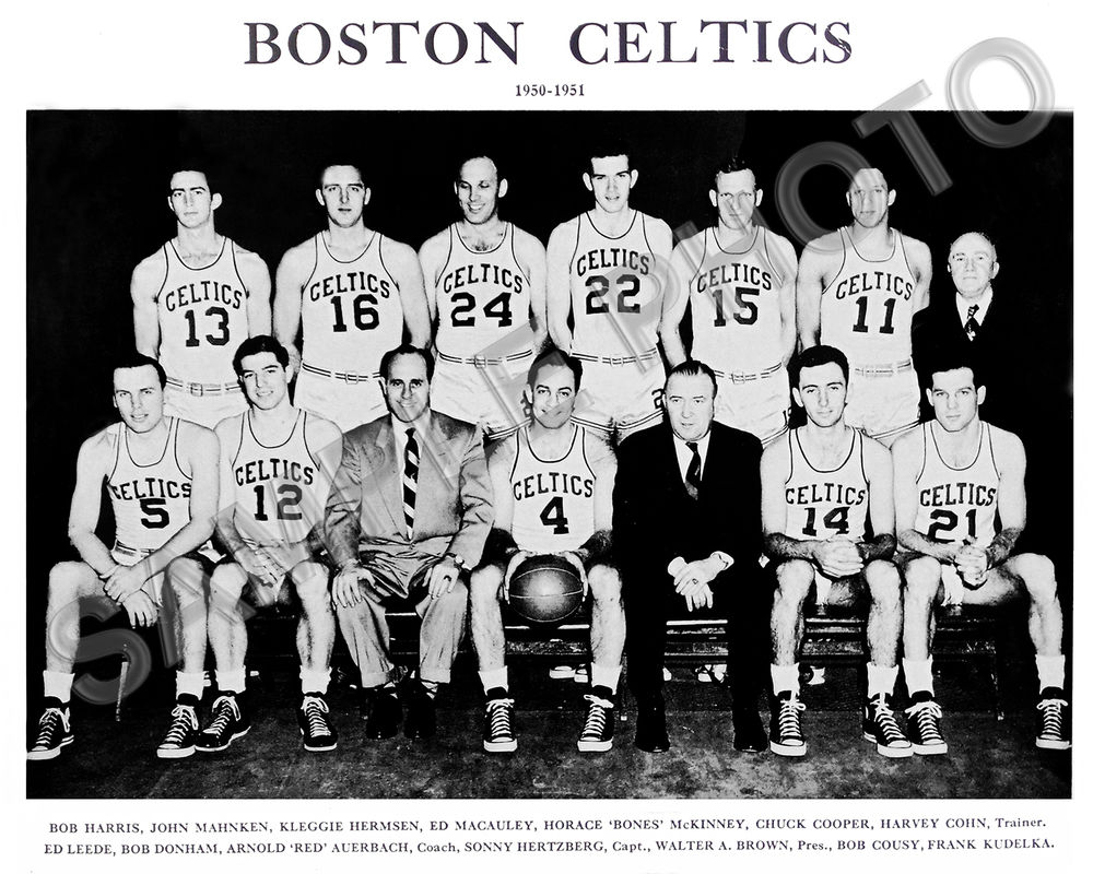 Red Auerbach Walter Brown and Gaming the Draft