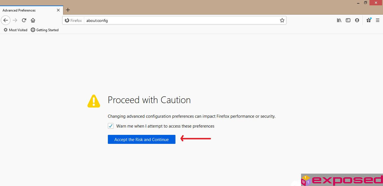 Mozilla Firefox tidak bisa Browsing