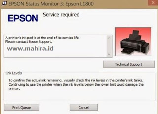 Epson L355 Printers Service Required