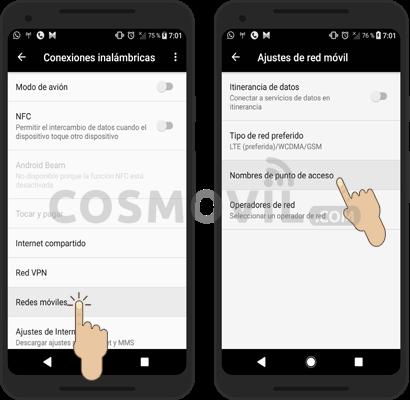 Movistar México: Configurar APN Internet 3G/4G LTE Android