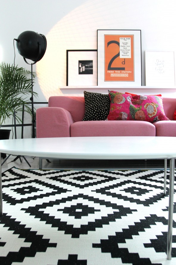 Ikea Rug Bungalow Home Staging Amp Redesign