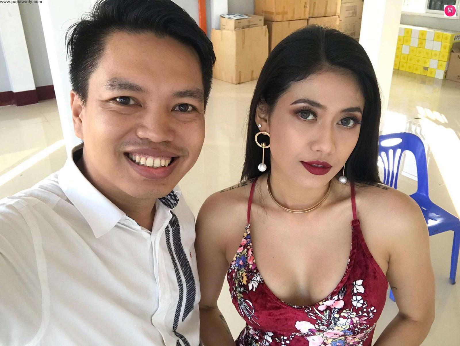 Winyin Kakyo Movie - Behind the Scenes (Aung Ye Linn