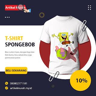 T-shirt Spongebob