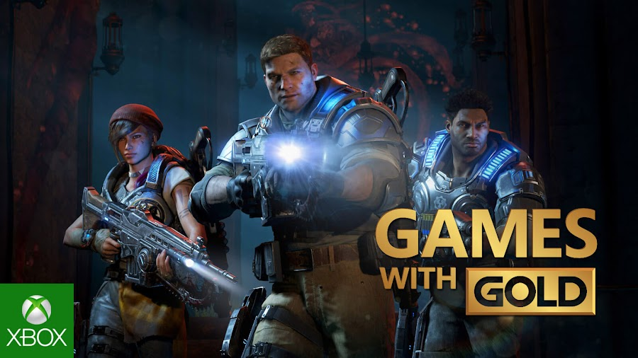 gears of war 4 xbox live gold free game coalition xb1