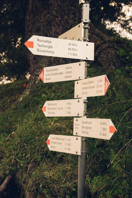 Regenwandern im Brandnertal Bürserberg Furkla Höhenweg + Kesselfall | Wandern Vorarlberg 05