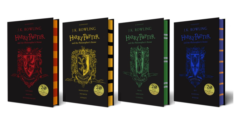 Harry Potter 20th Anniversary Book Covers