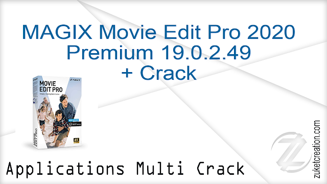 MAGIX Movie Edit Pro 2020 Premium 19.0.2.49 + Crack