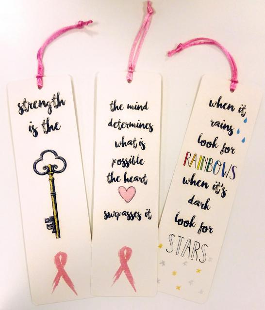 Marcapáginas DIY Cancer de mama