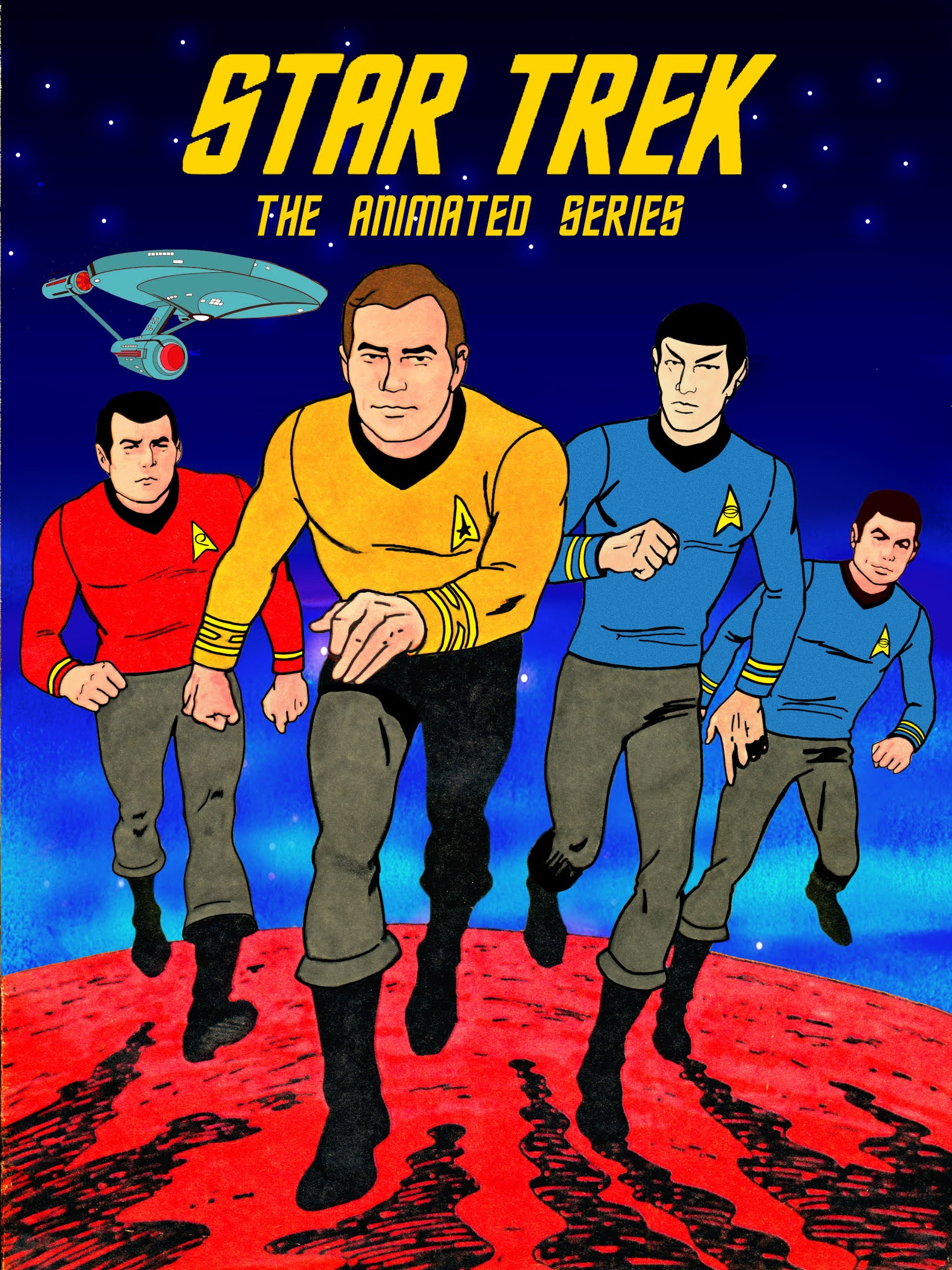 descargar star trek la serie animada completa latino 1973