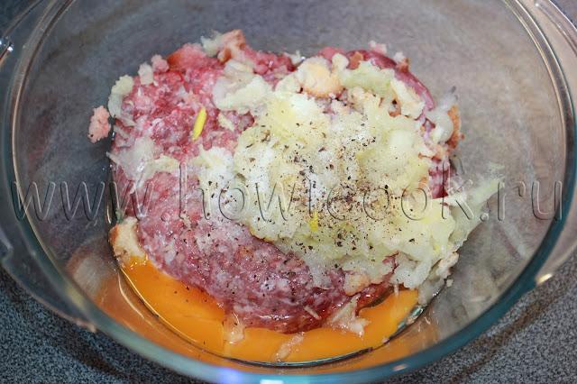 рецепт котлет из говядины в сливочном соусе с пошаговыми фото