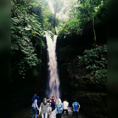 Damar Wulan Waterfall Nature Tourism Destination Jember East Java