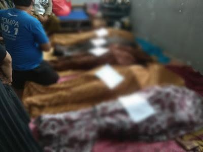 Satu Keluarga Tewas Di Lalap Si Jago Merah di Tangerang