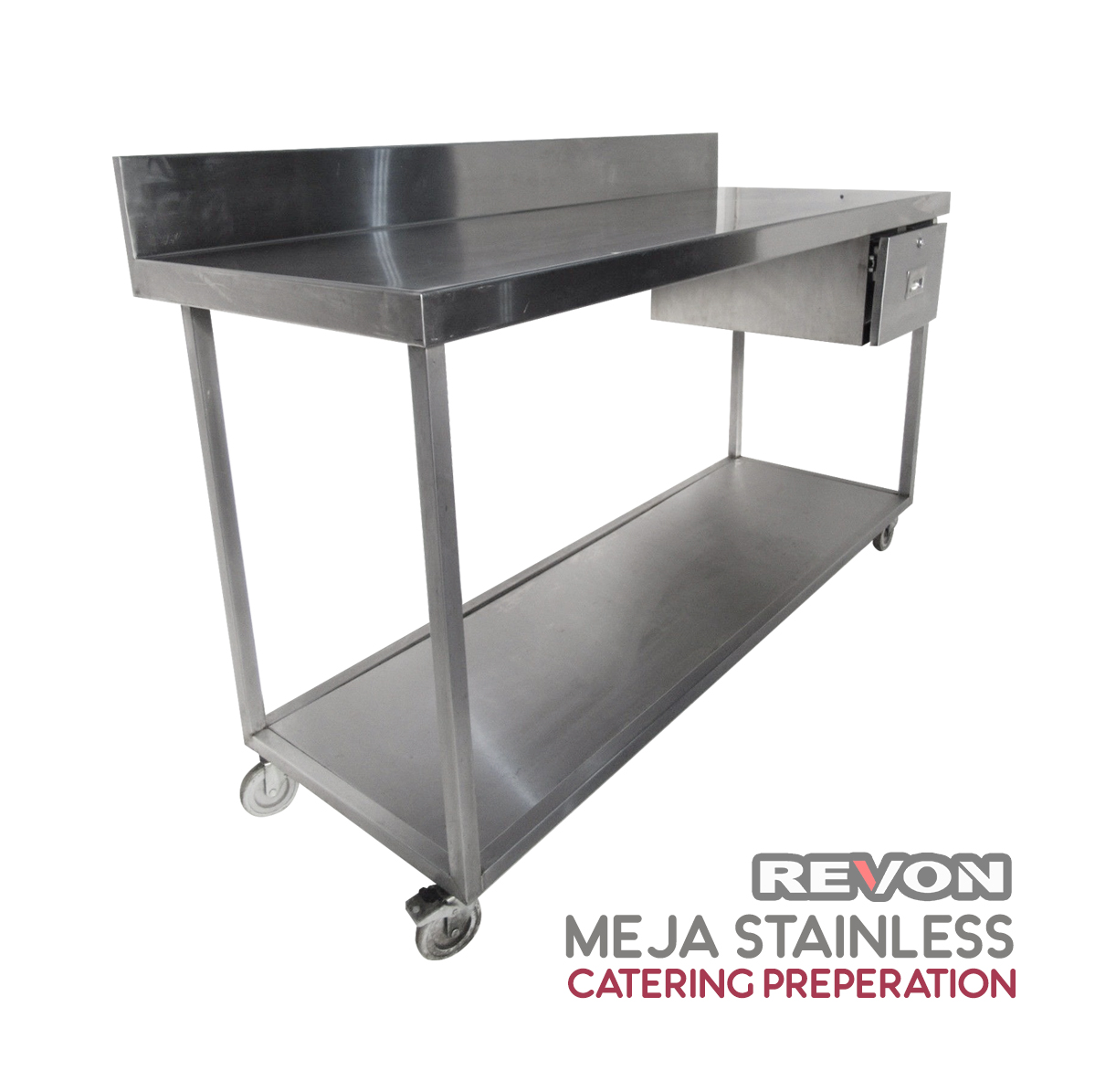Meja Stainless Steel Catering Preperation