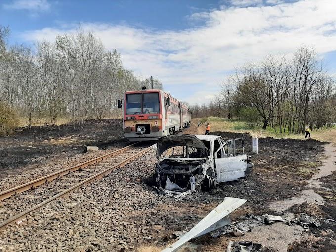 Szörnyű vonatbaleset történt Dabason