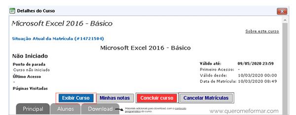 Curso Excel Online Gratuito COM CERTIFICADO do Básico ao Avançado
