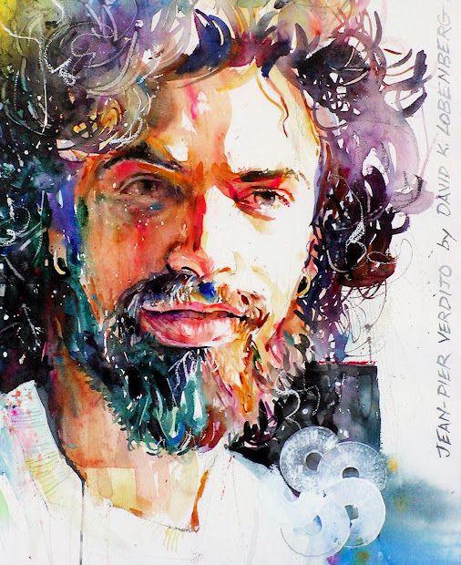 Watercolor Portrait Painting