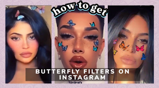 Butterfly filter instagram, How to get butterfly filter on instagram