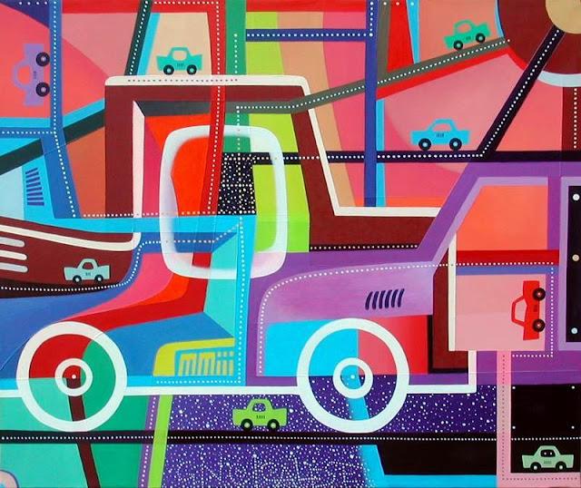 FREESTYLE (2003) olio su tela (50x60)