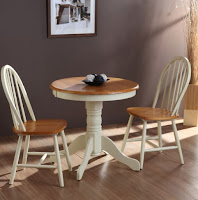 Pedestal small dining table