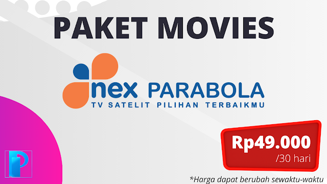 Paket Movies Nex Parabola Terbaru