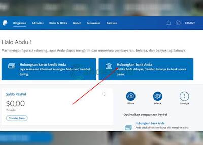 Menghubungkan Paypal dengan Bank Lokal