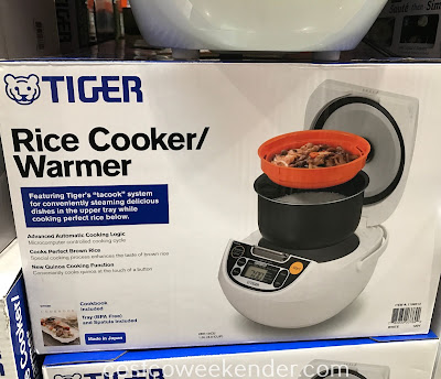 Easily cook some rice for dinner with the Tiger Rice Cooker/Warmer