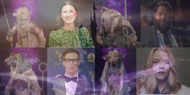 Personajes y actores doblaje en 'Cristal Oscuro: La Era de la Resistencia'