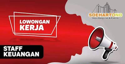 Lowongan Soehartono Depo Bangunan dan Elektrik Pati membuka kesrmpatan kerja untuk posisi :