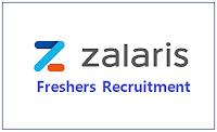 Zalaris Freshers Recruitment 2021