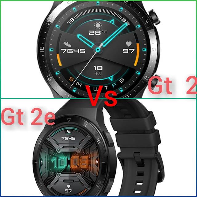 مقارنة هواوي جي تي 2 اي و جي تي 2