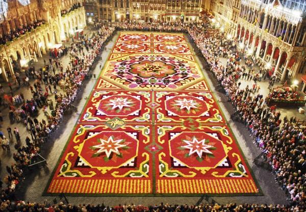 Biggest Flower Carpet, Brussels - Facts Land