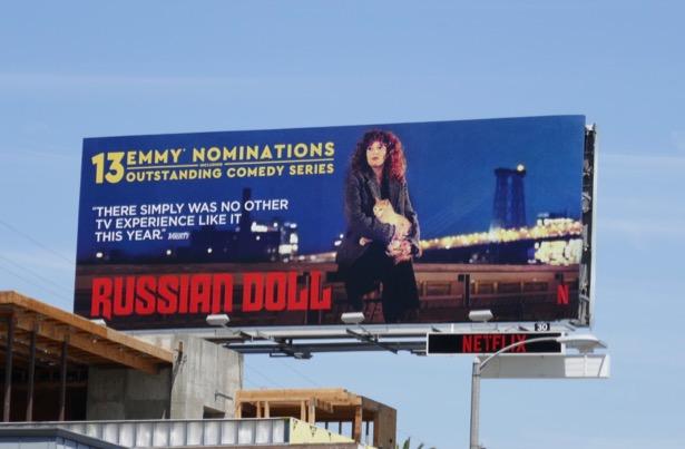 Russian Doll 13 Emmy nominations billboard