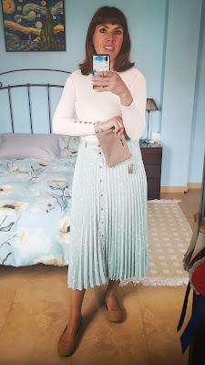 falda lunares y sabrinas