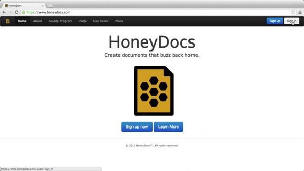 HoneyDocs já fez barulho após um usuário beta testá-lo com documentos no Dropbox