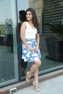 Yamini in Short Mini Skirt and Crop Sleeveless White Top 033.JPG
