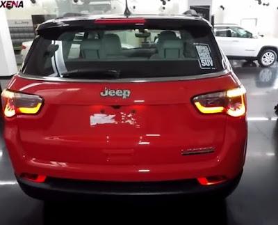 Jeep Compass Rear