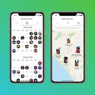 Instagram Launch Stories Map on 10th Anniversery