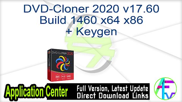 DVD-Cloner 2020 v17.60 Build 1460 x64 x86 + Keygen